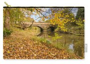 Hartford Bridge In Autumn Carry-all Pouch