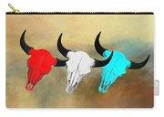 Hart's Camp Buffalo Skulls Carry-all Pouch