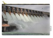 Hartwell Dam With Flood Gates Open Carry-all Pouch