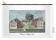 Harvard College - 1720 Carry-all Pouch