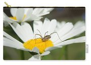 Harvastman On Daisy Looking For Food Carry-all Pouch
