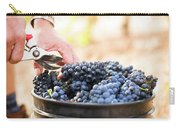 Harvest At Vineyard In Santa Cruz Carry-all Pouch