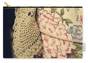 Hatbox Of Lace Carry-all Pouch