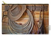 Hats And Chaps Carry-all Pouch
