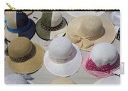 Hats For Sale Next To Marina, Lerici Carry-all Pouch