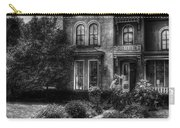 Haunted - Haunted House Carry-all Pouch by Mike Savad