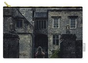 Haunted House Carry-all Pouch by Joana Kruse