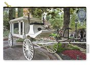 Haunted Mansion Hearse New Orleans Disneyland Carry-all Pouch