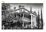 Haunted Mansion New Orleans Disneyland Bw Carry-all Pouch