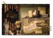 Have A Cigar Carry-all Pouch by Heather Applegate
