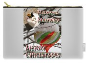 Have A Meowey Merry Christmas Carry-all Pouch