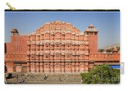 Hawa Mahal Palace Of Winds Carry-all Pouch