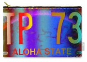 Hawaii Aloha State Carry-all Pouch