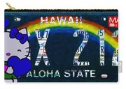 Hawaii License Plate Carry-all Pouch