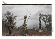 Hawaii Sculptures Carry-all Pouch