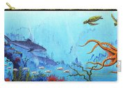 Hawaii Sea Life Carry-all Pouch