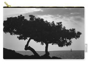 Hawaii Tree And Sail Boat Carry-all Pouch