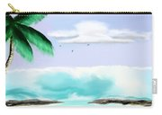 Hawaii Waves Carry-all Pouch