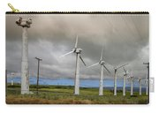 Hawaiian Abandoned Wind Power Generators Carry-all Pouch