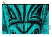 Hawaiian Aquamarine Mask Carry-all Pouch