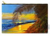 Hawaiian Coastal Sunset Carry-all Pouch
