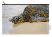 Hawaiian Green Sea Turtle 3 Carry-all Pouch