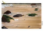 Hawaiian Green Sea Turtle Carry-all Pouch by Brian Harig