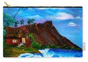 Hawaiian Homestead At Diamond Head Carry-all Pouch