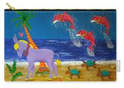 Hawaiian Lei Parade Carry-all Pouch