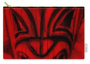 Hawaiian Red Mask Carry-all Pouch