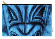 Hawaiian Turquoise Mask Carry-all Pouch