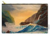 Hawaiian Turquoise Sunset   Copyright Carry-all Pouch
