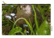 Hawk In The Grass Carry-all Pouch
