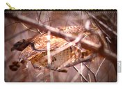 Hawk In The Woods Carry-all Pouch