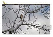 Hawk In Winter Carry-all Pouch