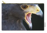 Hawk Portrait Carry-all Pouch