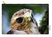 Hawk - Raptor - Living The Good Life Carry-all Pouch