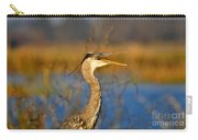 Hawking Heron Carry-all Pouch