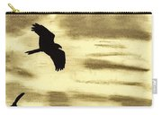 Hawks - At - Sunset Carry-all Pouch