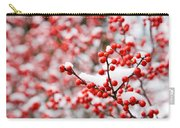 Hawthorn Berries Carry-all Pouch