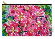 Hawthorn Blossom Carry-all Pouch