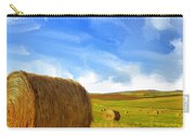 Hay Bales 2 Carry-all Pouch