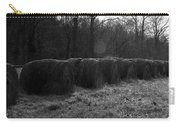 Hay Bales Bw Carry-all Pouch