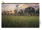 Hay Field Sunset Carry-all Pouch