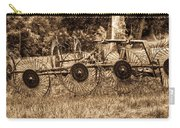 Hay Rake In Sepia 1 Carry-all Pouch