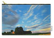 Hay Rolls On The Farm Series One In Westmoreland County Pennsylvania Carry-all Pouch