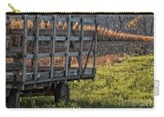 Hay Wagon In Field Carry-all Pouch