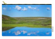 Hayden Valley Cloud Reflection Yellowstone National Park Carry-all Pouch