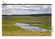 Hayden Valley In Yellowstone National Park-wyoming Carry-all Pouch