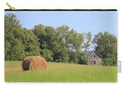 Haying Season At Captain Ed's Homestead Carry-all Pouch